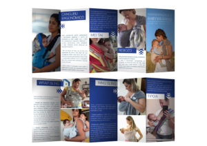 Folder Babywearing e Amamentação